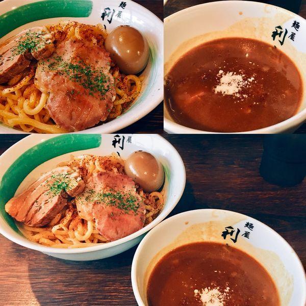 「☆限定カレーつけ麺☆」@自家製麺 麺屋 利八の写真