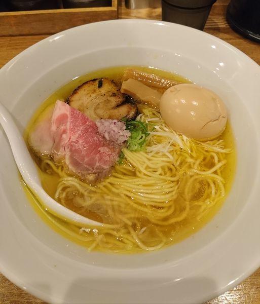 「味玉塩らぁめん 海老出汁仕様」@麺処 青野の写真