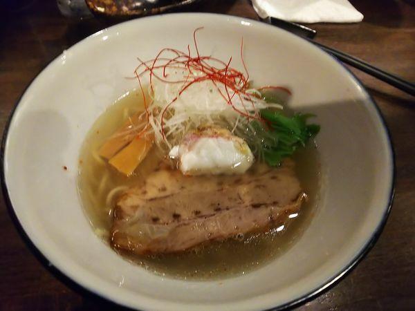 「真鯛塩らぁ麺寿」@らぁ麺BAR 錦 iwamotoの写真
