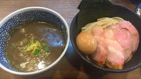 「特製極濃煮干しつけ麺」@煮干しつけ麺 宮元の写真