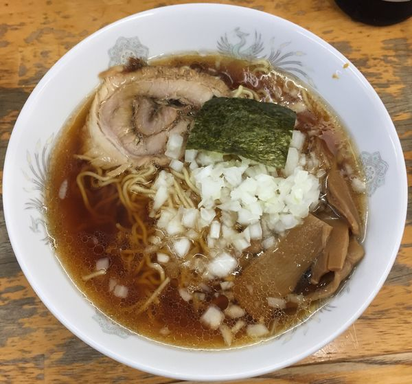「ラーメン(並・そば粉入り中華麺)420円他」@丸幸の写真