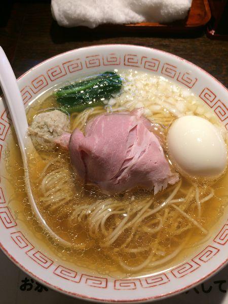 「味玉煮干しラーメン900円」@らぁめん小池の写真