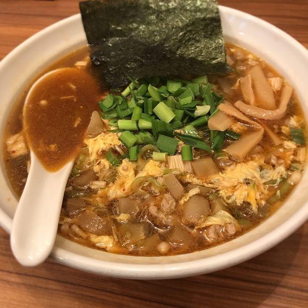 「さざんか担々麺」@麺家 さざんかの写真