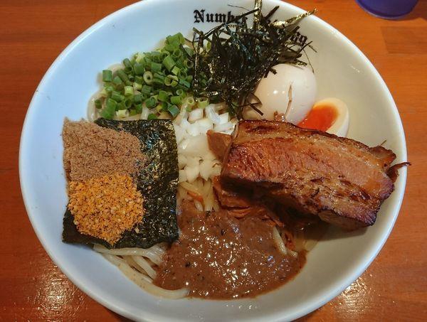 「贅沢油そば」@麺Dining Number Nine 09の写真