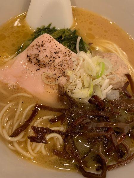 「博多水炊きラーメン」@麺屋すみすの写真