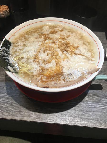 「背脂煮干らぁめん750円」@らぁめん ゑんの写真