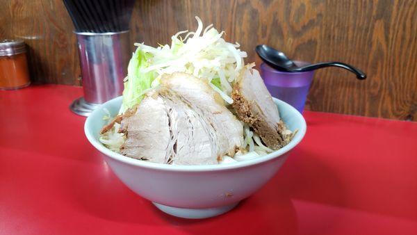 「ラーメン  750円」@ラーメン二郎 新潟店の写真