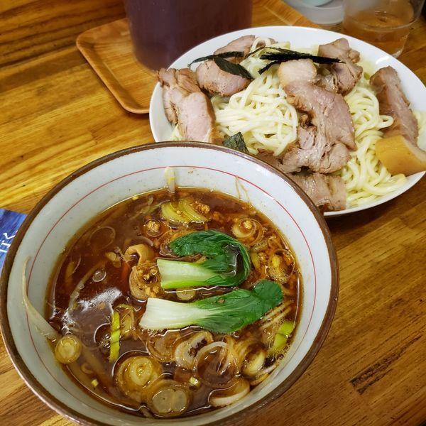 「チャーシュー味噌つけ麺」@はじめの写真