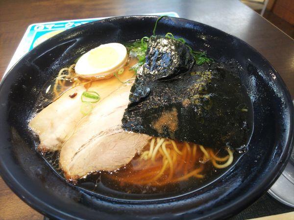 「醤油ラーメン750円」@三木サービスエリア (下り)の写真