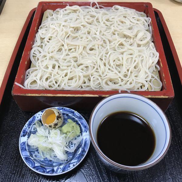 「もり(¥580)」@そば処 青山 やぶの写真