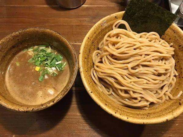 「ベジポタつけ麺 胚芽麺 大盛」@ベジポタつけ麺 えん寺の写真