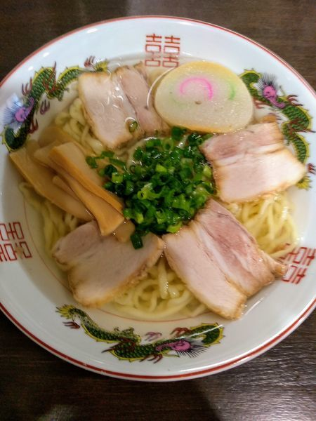 「中華そば 780円」@自家製麺中華そば 番家の写真