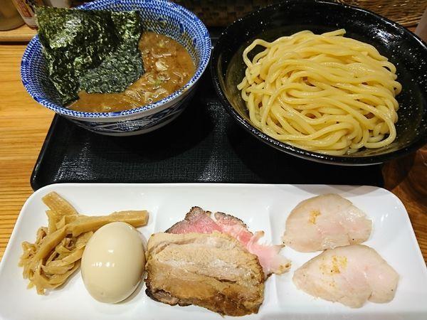 「全部のせつけ麺(1100円)」@つけめん・らーめん・煮干そば 金狼の写真