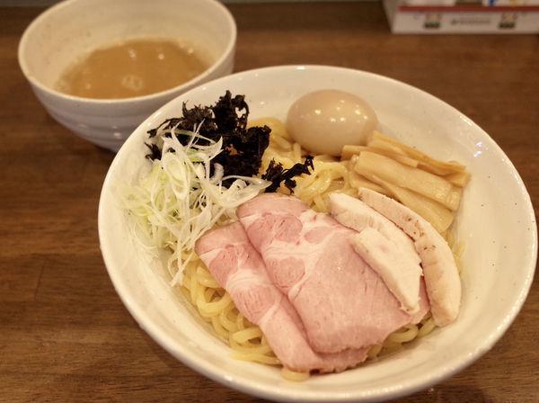 「つけめん 全のせ…1050円&麺大盛…+100円」@ラーメン翼の写真
