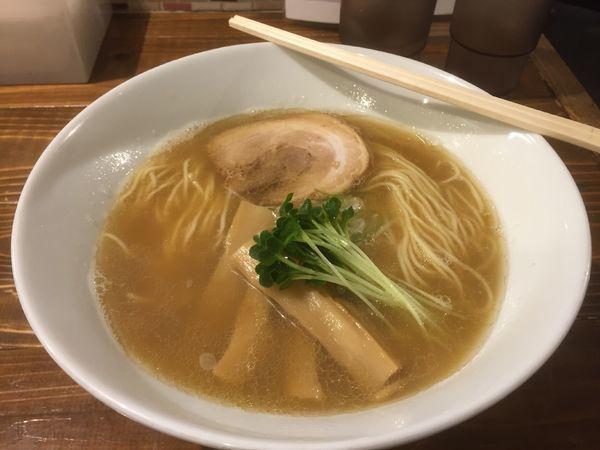 「煮干しそば 大盛り(¥880)」@煮干しそば 虎空の写真
