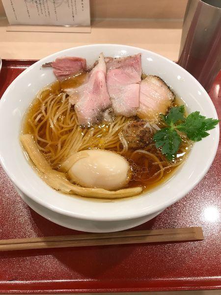 「ラーメン」@麦と麺助 新梅田中津店の写真