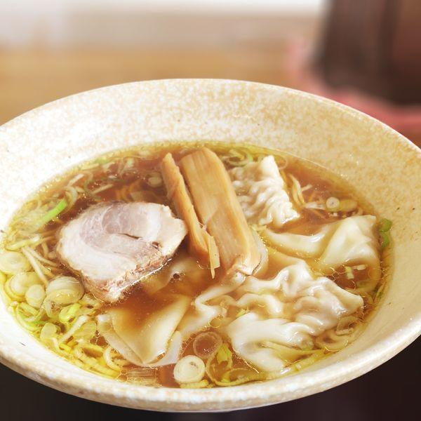 「ワンタン麺(醤油)」@中華そば 弥太郎の写真