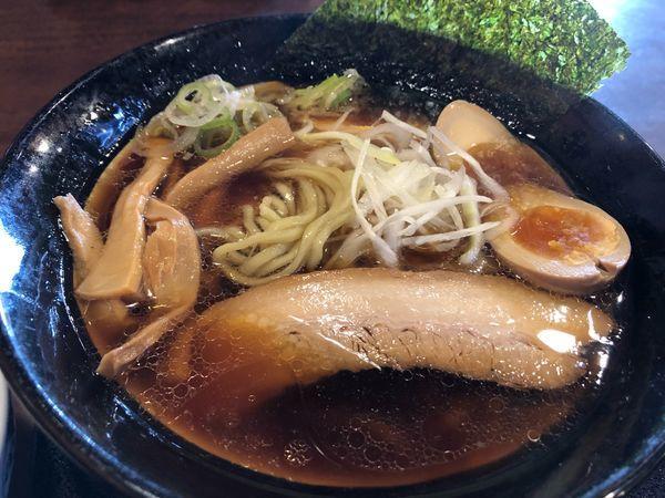 「本日限定  再仕込み醤油らーめん   ¥790」@麺屋むげんの写真