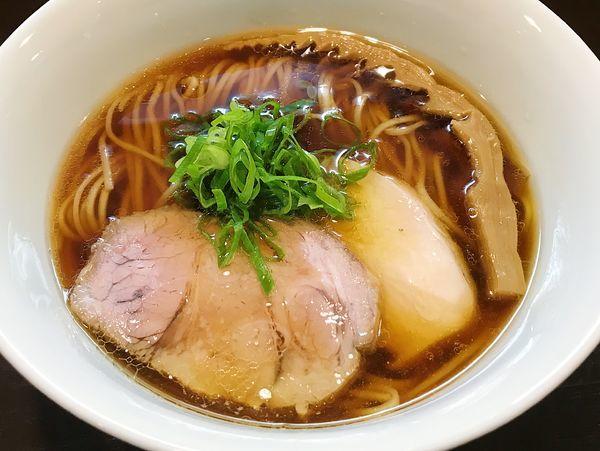 「らぁ麺 醤油」@らぁ麺 すぎ本の写真