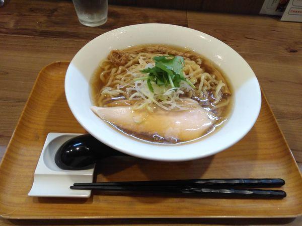 「冷やし貝煮干手揉み麺」@ラーメン 健やかの写真