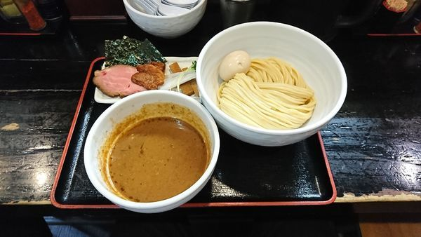 「得製つけ麺」@濃厚宗田つけめん 麺屋縁道の写真