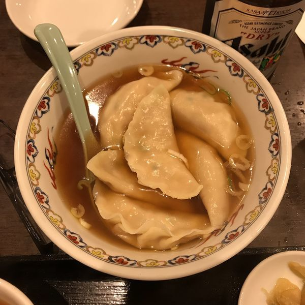 「水餃子(6個)」@四つ角飯店の写真