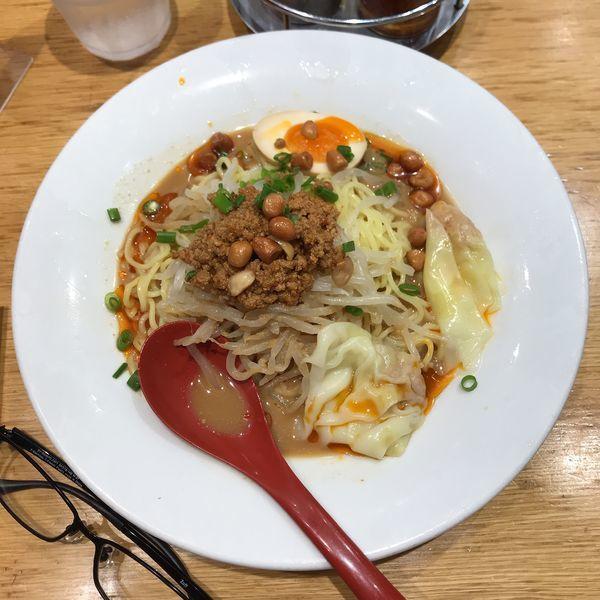 「冷やし坦々麺」@雲呑好 ecute立川店の写真