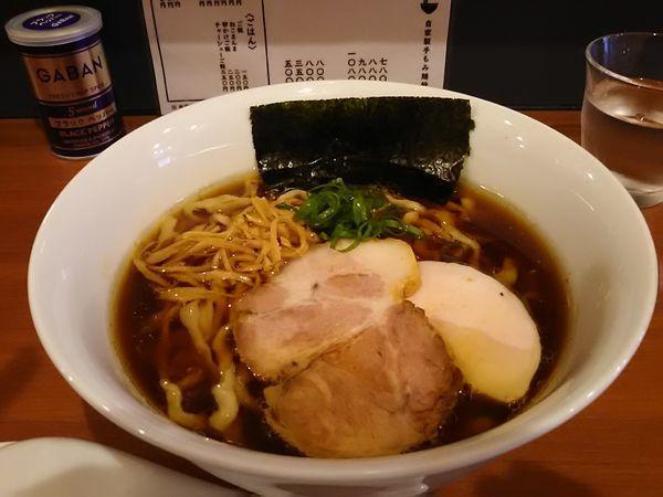 「醬油らーめん780円」@自家製手もみ麺 鈴ノ木の写真