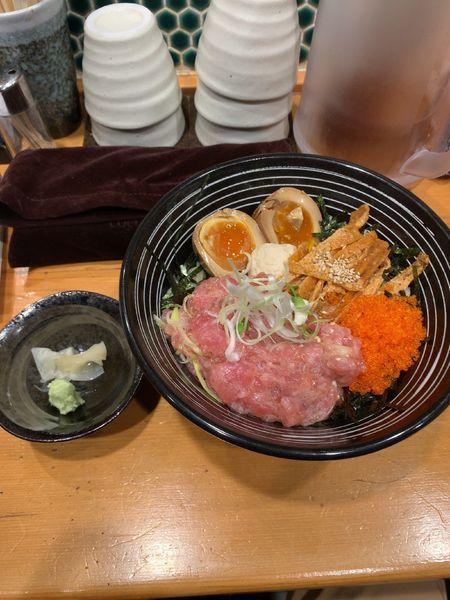「チラシ麺 松」@鮮魚鶏出汁麺 沢むらの写真