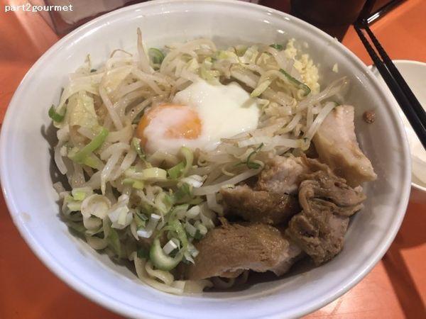 「油そば醤油(きざみ豚・温玉付き) (920円)」@ちばからの写真