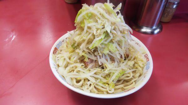 「大ラーメン豚入り」@ラーメン二郎 ひばりヶ丘駅前店の写真