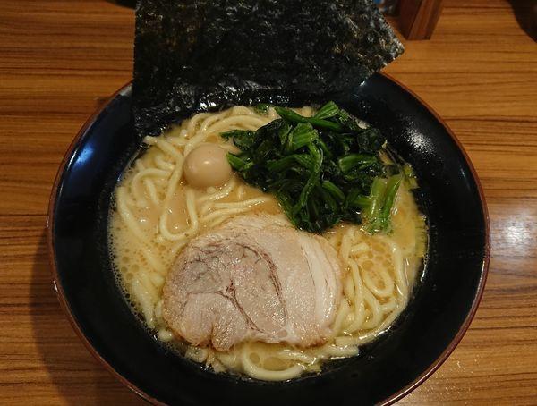 「ラーメン(醤油)」@横浜家系ラーメン 壱角家 松戸店の写真