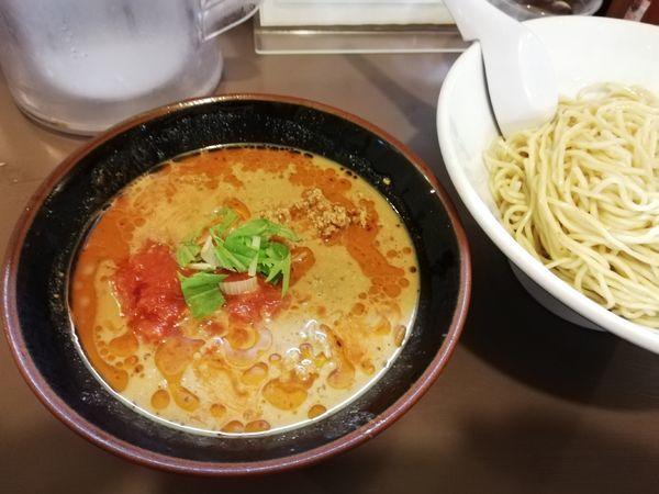 「胡麻だれ冷やしつけ麺 限定」@鶏こく中華 すず喜の写真