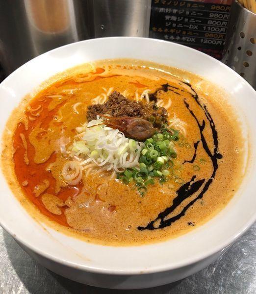 「海老寿久担々麺 ¥1000」@麺屋 愛心 TOKYO 町屋店の写真