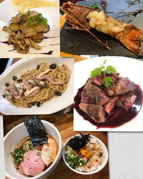 「貸し切りコース料理+鶏清湯醤油(冷やしで)」@麺庵 小島流の写真