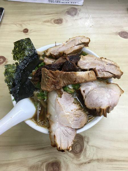 「チャーシューワンタンメン 1,050円」@味の大西 本店の写真