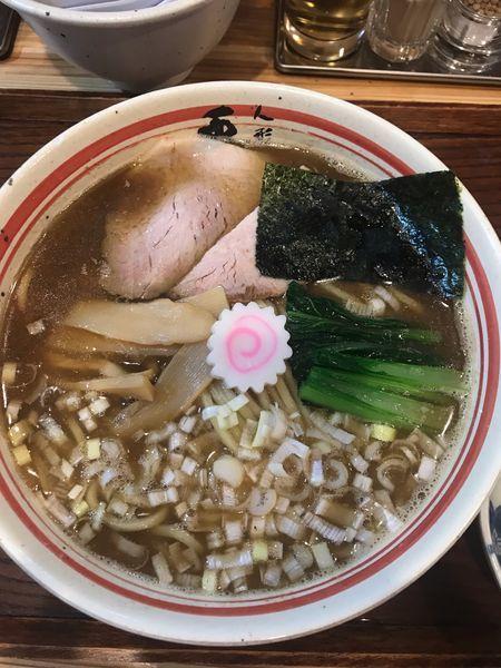 「ラーメン中 +味玉  980円」@人形町 兎屋の写真