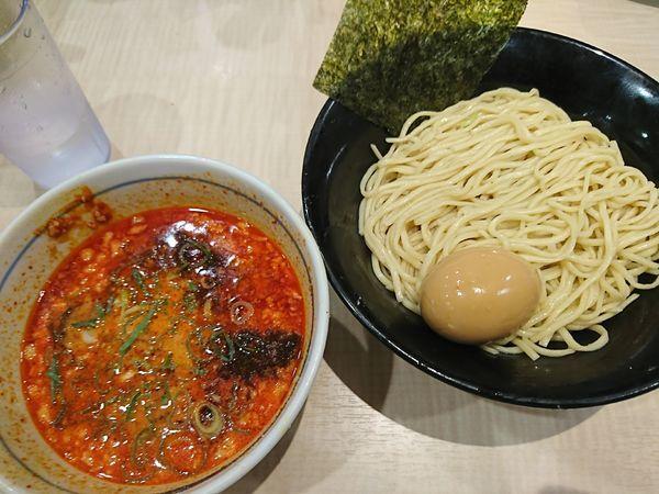 「味玉麻辣坦々つけ麺(780円)」@替玉千里眼 志木店の写真
