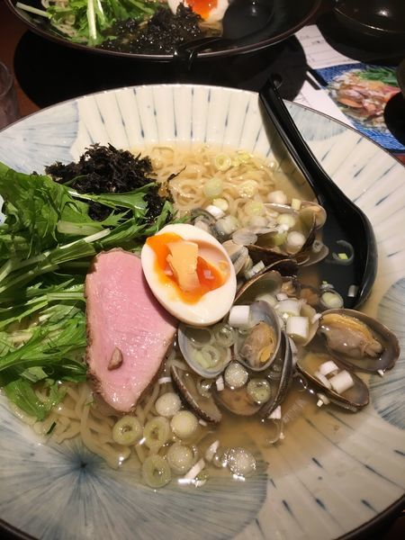 「大粒あさりのラーメン」@麺 雑草家の写真