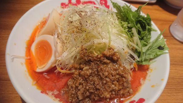 「冷やし担々麺(限定、850円)」@なんつッ亭 御徒町店の写真
