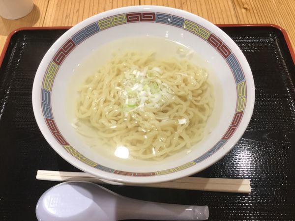 「つるの湯温泉塩ラーメン(¥500)」@日本橋ふくしま館 MIDETTE ミデッテの写真