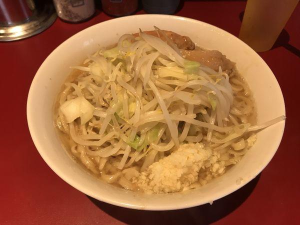 「小ラーメン(麺半分+ニンニク)」@ラーメン二郎 荻窪店の写真