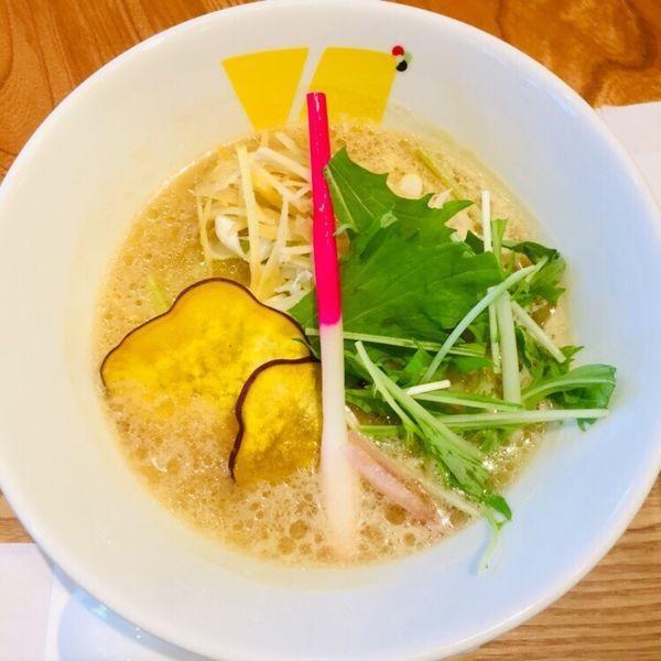 「生姜ベースのvege味噌ヌードル 799円 低糖質麺」@Vegetable Noodle Tadocoroの写真