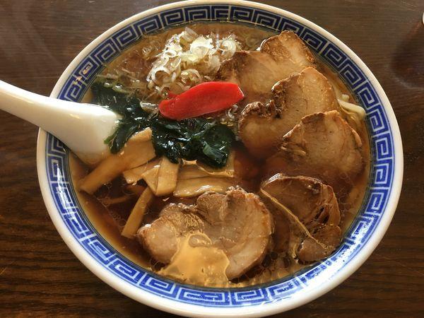 「チャーシューメン(700¥)」@同気食堂の写真