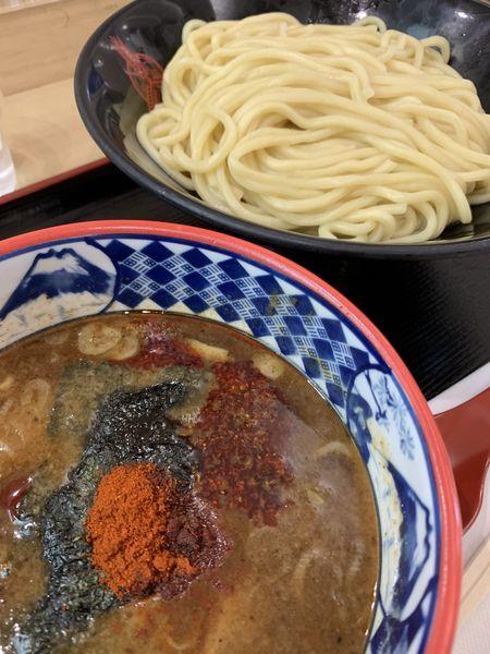 「灼熱つけ麺900円」@つけ麺専門店 三田製麺所 イオンモールナゴヤドーム前店の写真