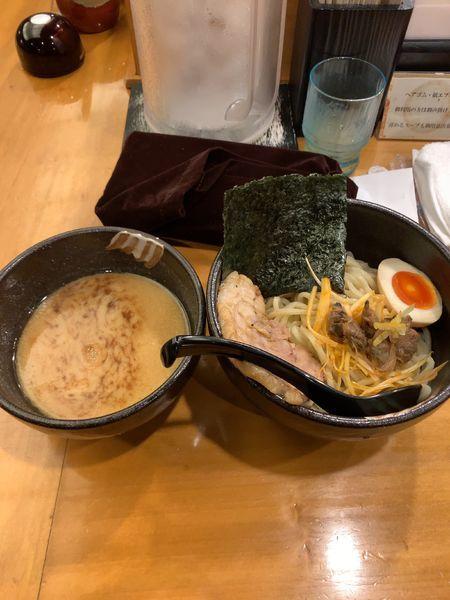 「江戸前味噌つけ麺」@麺場 田所商店 辻堂店の写真