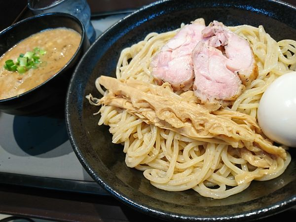 「特製濃厚つけ麺(1110円)」@中華そば 輝羅の写真