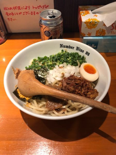 「油そば800円」@麺Dining Number Nine 09の写真