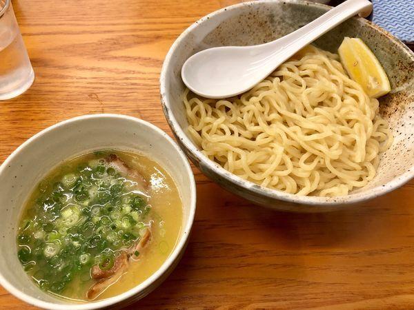 「つけ麺(塩)800円」@麺や けせらせらの写真
