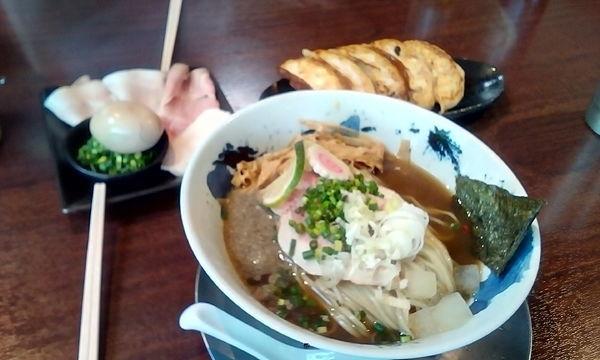 「冷やし煮干しそば」@麺道 麒麟児の写真
